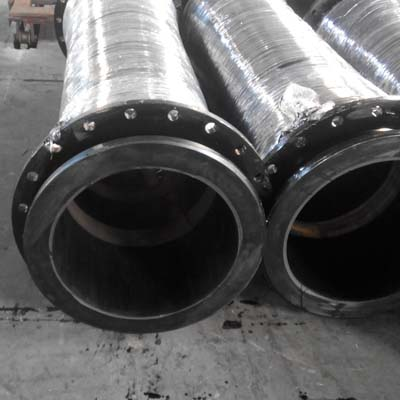 dicharge-hose-with-loose-flanges